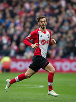 Manolo Gabbiadini of Southampton during the EPL - Premier League match between West Ham United and Southampton at the Olympic Park, London, England on 31 March 2018. Photo by Andy Rowland.