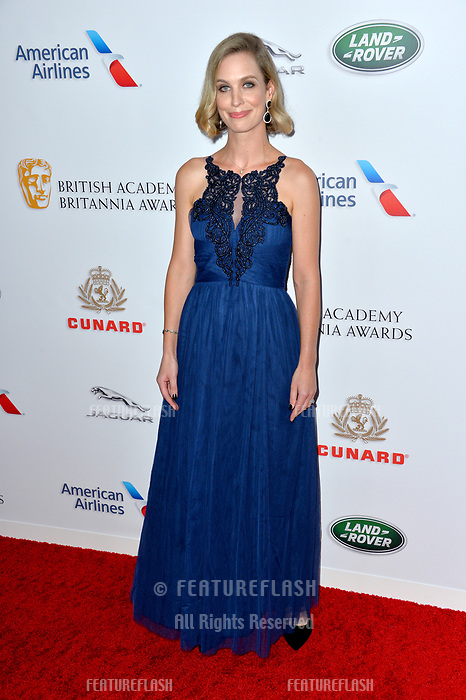BEVERLY HILLS, CA. October 26, 2018: Helen Kennedy Turner at the 2018 British Academy Britannia Awards at the Beverly Hilton Hotel.<br /> Picture: Paul Smith/Featureflash