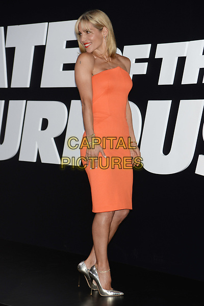 NEW YORK, NY - APR 08: Elsa Pataky attends the Premiere of &quot;The Fate of the Furious&quot; at Radio City Music Hall on April 8, 2017 in NEW YORK CITY.<br /> CAP/LNC/TOM<br /> &copy;TOM/LNC/Capital Pictures