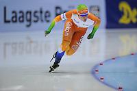 SCHAATSEN: HEERENVEEN: Thialf, KPN NK Sprint, 30-12-11, Antoinette de Jong, ©foto: Martin de Jong.