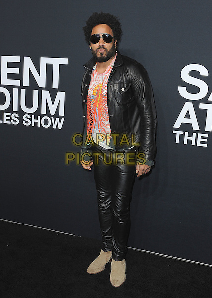 HOLLYWOOD, CA - FEBRUARY 10:  Lenny Kravitz at Saint Laurent at The Palladium at the Hollywood Palladium on February 10, 2016 in Hollywood, California. <br /> CAP/MPI/PGSK<br /> &copy;PGSK/MPI/Capital Pictures