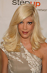 , CA. - June 05: Actress Tori Spelling arrives at the Step Up Women's Network's 2009 Inspiration Awards Luncheon at the Beverly Wilshire Four Seasons Hotel on June 5, 2009 in Beverly Hills, California.