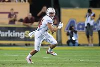 Tempe, AZ - October 18, 2014: The Stanford Cardinal vs Arizona State Sun Devils game at Sun Devil Stadium in Tempe, AZ. Final score, Stanford Cardinal 10, Arizona State 26
