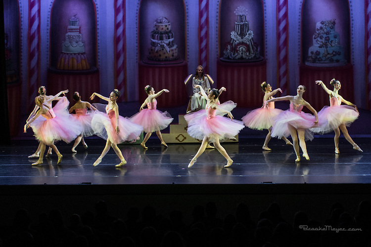 "Cary Ballet Company, ""Visions of Sugarplums"", Saturday Matinee, 19 Dec. 2015, Cary Arts Center, Cary, North Carolina."