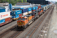 Freight Train, Seattle, Washington, USA.
