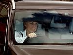Motherwell's Leann Dempster leaving the SPL Meeting at Hampden