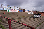 23/06/2000 Blackpool FC Bloomfield Road Ground..Kop home section.....© Phill Heywood.