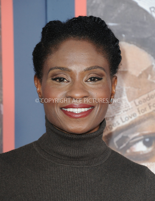 WWW.ACEPIXS.COM<br /> <br /> May 10 2016, LA<br /> <br /> Adina Porter arriving at the premiere of HBO's 'All The Way' at Paramount Studios on May 10, 2016 in Hollywood, California.<br /> <br /> By Line: Peter West/ACE Pictures<br /> <br /> <br /> ACE Pictures, Inc.<br /> tel: 646 769 0430<br /> Email: info@acepixs.com<br /> www.acepixs.com