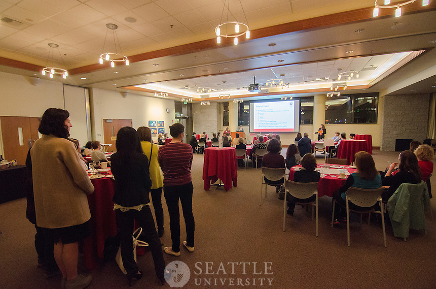 Women of Seattle U Connection Cafe - 1/30/14