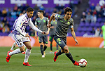 Real Sociedad's Mikel Oyarzabaland Real Valladolid's Ruben Alcaraz during La Liga match. March 31, 2019. (ALTERPHOTOS/Manu R.B.)