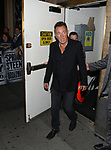 Bruce Springsteen leaving the Walter Kerr Theater on the official opening night  performance of 'Springsteen On Broadway' on October 12, 2017 in New York City.