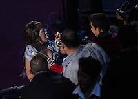 Alejandra Guzman durante su concierto en el palenque de la Feria de Leon Guanajuato el 18 de Enero del 2014..<br /> (*Foto:TiradorTercero/NortePhoto*)