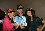 "To be honored Alicia and Gina on October 8, 2013 at Fall Benefit - AMC Alicia Minshew, OLTL Gina Tognoni (GL), Guiding Light Sean McDermott ""Hart Jessup"" showing off Jane Elissa's new book ""Diary of a Lollipop in a Peanut Factory"" taken at Jane's apartment in New York City, New York. (Photo by Sue Coflin/Max Photos)"
