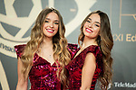 """Twin Melody attends """"Iris Academia de Television' awards at Nuevo Teatro Alcala, Madrid, Spain. <br /> November 18, 2019. <br /> (ALTERPHOTOS/David Jar)"""