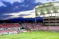 Rio Tinto Stadium before the New York Red Bulls @ Real Salt Lake 1-1 draw at Rio Tinto Stadium in Sandy, Utah on October 9, 2008.