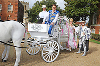 Brian Conley, Lauren Hall and Gok Wan attend the Milton Keynes Theatre Cinderella Pantomime Press Launch at Chicheley Hall, Newport Pagnell, Bucks Brian Conley stars as 'Buttons', Gok Wan as 'The Fairy Gokmother' and Lauren Hall as 'Cinderella'. Pictured on Sunday October 8th 2017<br /> CAP/ROS<br /> &copy; Steve Ross/Capital Pictures