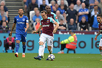 Mark Noble of West Ham during West Ham United vs Everton, Premier League Football at The London Stadium on 13th May 2018