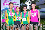 Niamh O'Sullivan 1st, Siobhan Daly 2nd, Mary O'Connor 3rd and Orla Gormley 4thpictured at Killarney Women's Mini Marathon on Saturday last.