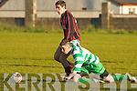 Park's no.20 and Killarney Celtic's Sean O'Brien..   Copyright Kerry's Eye 2008