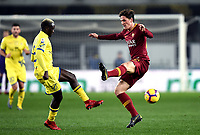 Assane Diousse of Chievo, Nicolo Zaniolo of AS Roma <br /> Verona 8-2-2019 Stadio Bentegodi Football Serie A 2018/2019 Chievo Verona - AS Roma <br /> Foto Image Sport / Insidefoto