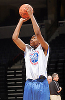 G/F Maurice Hubbard (Chantilly, VA / Westfield) shoots the ball during the NBA Top 100 Camp held Friday June 22, 2007 at the John Paul Jones arena in Charlottesville, Va. (Photo/Andrew Shurtleff)