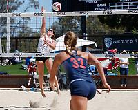Stanford Beach Volleyball vs Arizona, April 26, 2018