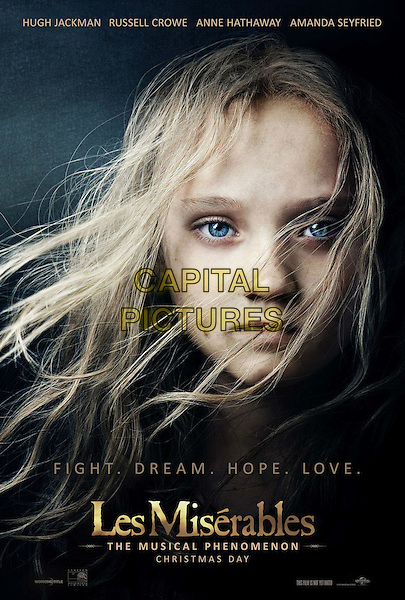 POSTER ART.in Les Miserables (2012) .*Filmstill - Editorial Use Only*.CAP/FB.Supplied by Capital Pictures.