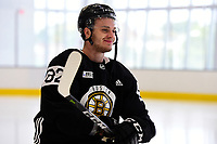 September 15, 2017: Boston Bruins left wing Jesse Gabrielle (82) skates during the Boston Bruins training camp held at Warrior Ice Arena in Brighton, Massachusetts. Eric Canha/CSM