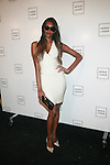 Model Jessica White: New York Mercedes-Benz Fashion Week Spring 2012 - Herve Leger - Backstage New York City, USA - 9/13/11