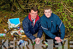 Cllr John Sheahan is calling for a camera to be installed at Brennan's Glen to prevent illegal dumping which is blighting the main Killarney to Tralee road. .L-R Cllr John Sheahan and Donal Rice.