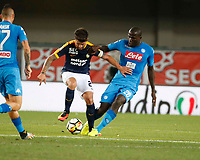 \2 6\during the  italian serie A soccer match,between Hellas Verona and SSC Napoli  at  the Bentegodi    stadium in Verona  Italy , August 19, 2017