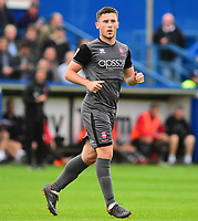Lincoln City's Shay McCartan<br /> <br /> Photographer Andrew Vaughan/CameraSport<br /> <br /> The EFL Sky Bet League One - Macclesfield Town v Lincoln City - Saturday 15th September 2018 - Moss Rose - Macclesfield<br /> <br /> World Copyright &copy; 2018 CameraSport. All rights reserved. 43 Linden Ave. Countesthorpe. Leicester. England. LE8 5PG - Tel: +44 (0) 116 277 4147 - admin@camerasport.com - www.camerasport.com