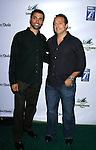 "MALIBU, CA. - September 10: Producers Matt Lane and Jason Berk arrive at the ""Surfer Dude"" premiere at the Malibu Cinemas on September 10, 2008 in Malibu, California."