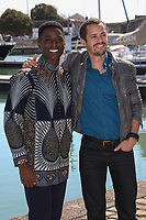 YANN GAEL, AMBROISE MICHEL - 19EME FESTIVAL DE LA FICTION TV DE LA ROCHELLE, FRANCE, LE 15/09/2017.