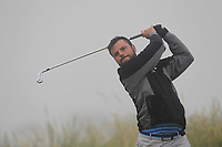 Stephen Watts (Cairndhu) on the 1st tee during Round 1 - Matchplay of the North of Ireland Championship at Royal Portrush Golf Club, Portrush, Co. Antrim on Wednesday 11th July 2018.<br /> Picture:  Thos Caffrey / Golffile