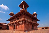 Diwan i Khas in Fatehpur Sikri, Uttar Pradesh, Indien, Unesco-Weltkulturerbe