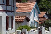 France, Aquitaine, Pyrénées-Atlantiques, Pays Basque, Biarritz: Quartier Bibi Beaurivage  //  France, Pyrenees Atlantiques, Basque Country, Biarritz:  Bibi Beaurivage  district