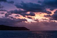 Coastal sunrise, Liguria, Italy
