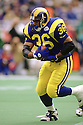 Los Angeles Rams Jerome Bettis(36) in action during a game from his 1995 season with the Los Angeles Rams. Jerome Bettis played for 13 years with 2 different teams and was a 6-time Pro Bowler and was inducted into the Pro Football Hall of Fame in 2015.(SportPics)