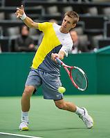 14-02-13, Tennis, Rotterdam, ABNAMROWTT,Jarkko Nieminen