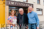 J.M. Fitzgerald's Bar, Abbeyfeale is nominated for Traditional Pub of the Year Owner John Michael Fitzgerald with present proprietors Margaret & Georgie Browne.