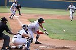 May 26, 2015: during the NCAA Baseball Regional game between the Maryland Terrapins, and the Ole Miss Rebels in Westwood, California