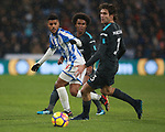 Elias Kachunga of Huddersfield Town  during the premier league match at the John Smith's Stadium, Huddersfield. Picture date 12th December 2017. Picture credit should read: Simon Bellis/Sportimage