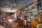 Interior of Bullock's Bistro, Yellowknife