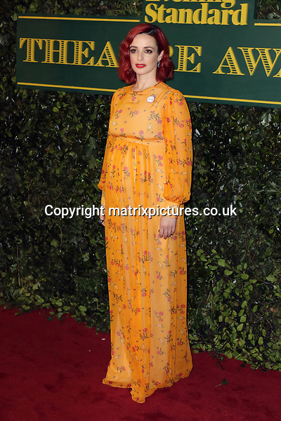 NON EXCLUSIVE PICTURE: MATRIXPICTURES.CO.UK<br /> PLEASE CREDIT ALL USES<br /> <br /> WORLD RIGHTS<br /> <br /> Guest attends the Evening Standard Theatre Awards 2017 at Theatre Royal, Drury Lane in London. <br /> <br /> DECEMBER 3rd 2017<br /> <br /> REF: MES 172784