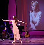 Tiler Peck during the Celebrate the Life of Marin Mazzie Memorial Service at the Gershwin Theatre on October 25, 2018 in New York City.