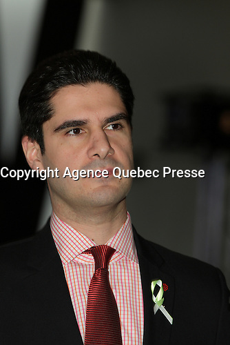 File photo -  Harout Chitilian<br /> <br /> Photo : Pierre Roussel - Agence Quebec Presse