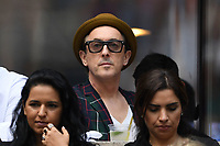 FLUSHING NY- SEPTEMBER 09: Alan Cumming is sighted watching Madison Keys Vs. Sloane Stephens Stephens defeats Keys in straight sets 6-3, 6-0 during the Womens finals on Arthur Ashe Stadium at the US Open in the USTA Billie Jean King National Tennis Center on September 9, 2017 in Flushing Queens. <br /> CAP/MPI04<br /> &copy;MPI04/Capital Pictures