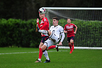 Declan John of Swansea City u23s' in action during the Premier League 2 Division Two match between Swansea City u23s and Middlesbrough u23s at Swansea City AFC Training Academy  in Swansea, Wales, UK. Monday 13 January 2020.