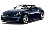 Front three quarter view of a .2013 Nissan 370Z AT Roadster